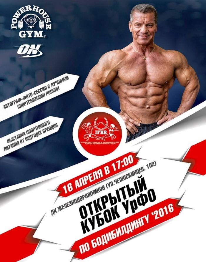 Открытый кубок Урала по бодибилдингу 2016