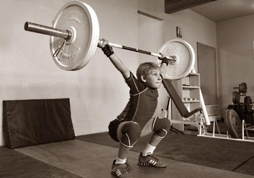 Тяжелая атлетика дети